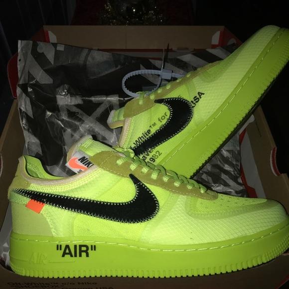 separation shoes 231f0 ff8c1 Off-White x nike AF1 Volt